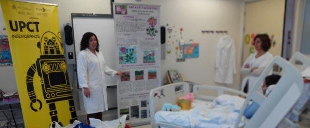 Los niños del hospital Santa Lucía descubren a la Jara deCartagena